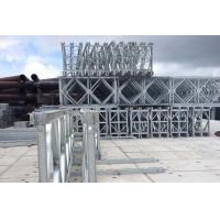 Wholesale Hot Dip Galvanized Deck Truss Bridge , Lower Cost Temporary Steel Bridge from china suppliers