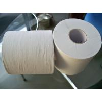 Wholesale Embossed Recycle White Toilet Tissue Paper Roll , 2ply 16gsm 10 rolls per bag from china suppliers