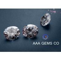 Wholesale Necklaces 5mm AAA GEMS Sythetic Stones Colorless Moissanite With Round Shape Diamone from china suppliers