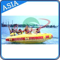 Wholesale 4 Seats Bali Rolling Donut Inflatable Boats Rider For Water Sport Games from china suppliers
