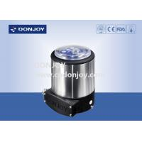 Wholesale Pneumatic diaphragm valve  with one solenoid valve and two sensor from china suppliers