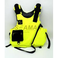 Wholesale S , M , L Water Sport Rafting Life Jacket Kayak Foam Life Vest Buoyancy Aids from china suppliers