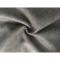 Wholesale 57/58 Inch Coat Weight Wool Fabric Woven Technics For Grement , Wool Flannel Cloth from china suppliers