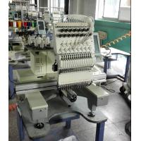 Mixed flat 9 Needle Single Head Embroidery machine for Sweat Suits / Pet Apparel