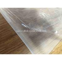 Quality Food Grade Clear Silicone Rubber Sheet Roll for Medical Equipment Rubber Plate for sale