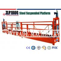 Wholesale ZLP1000 Steel Electric Temporary Suspended Platform For Building Construction Tools from china suppliers
