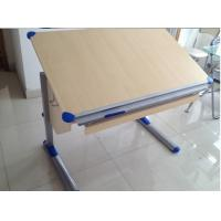 Wholesale European design Kids Height Adjustable Drawing Desk with rule from china suppliers