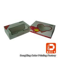 Wholesale Bakery Dessert Eco Friendly Food Packaging Boxes Foldable With Open Window from china suppliers