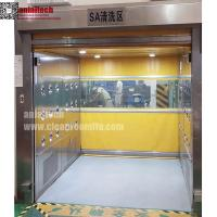 Quality Auto-Fast Rolling Door Air Shower for Material pass through for sale