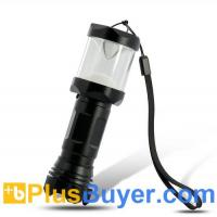 Wholesale Water Resistant LED Camping Lamp (Flashlight, Aluminum Casing, 160 Lumens, 3W LED) from china suppliers
