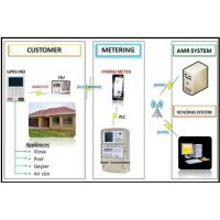 Wholesale Integrated prepaymen AMI solutions remote vending billing data appliance control RF PLC automatic top - up from china suppliers
