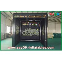 Wholesale Cabin Inflatable Air Tent With Inflatable Bottom / Tent Court For Promotional from china suppliers