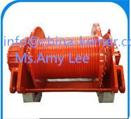 Wholesale hydraulic winches/GWJ series hydraulic winch/Free Fall Hydraulic Winch With 10-500KN Pulling Capacity / 1 ton-50 ton hyd from china suppliers