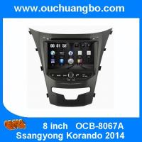"Wholesale Ouchuangbo 8""Touch Screen DVD Radio Player Ssangyong Korando 2014 GPS Navi Bluetooth iPod SD USB SWC OCB-8067A from china suppliers"