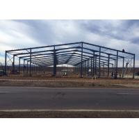 Wholesale Prefabricated Steel Frame Buildings / Metal Building Frame Structure Warehouse from china suppliers