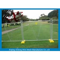 Wholesale Portable Chain Link Fence , Temporary Wire Fencing Metal Iron Material from china suppliers