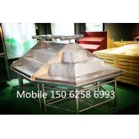 Wholesale Stainless Stand Fruit Vegetable Display Rack Single Sided / Double Sided from china suppliers