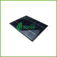 Wholesale Crystalline 9V 30mA Epoxy Resin Solar Panel With Consistent Textured Surface from china suppliers