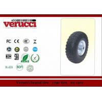 Wholesale 5.00 - 6 Pneumatic Rubber Wheel Colored Tr87 Straight Tread Pattern from china suppliers