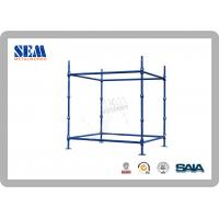 Wholesale Powder Coated Cuplock tubular Scaffolding Systems 65000 Psi Galvanized from china suppliers