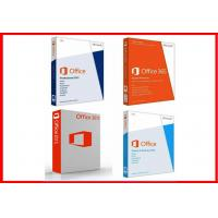 Wholesale Original Microsoft Office 2013 Pro plus Retailbox key card +DVD online activation from china suppliers