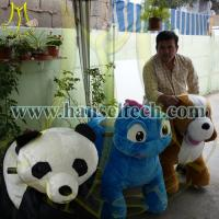 Wholesale Hansel animal rides parent animal rider motorized plush riding animals from china suppliers
