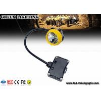 Wholesale Explosion-Proof PC Rechargeable LED Headlamp , 208lum 15000lux Safety Miners Lights from china suppliers