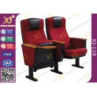 Wholesale Full Upholstered Metal Framework Auditorium Chairs , Conference Room Seating from china suppliers