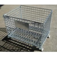 Wholesale Heavy duty foldable storage rigid matel welded wire cage from china suppliers