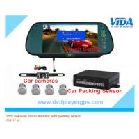 Wholesale 7inch bluetooth lcd car vehicle rear view rearview mirror monitor parking sensor from china suppliers