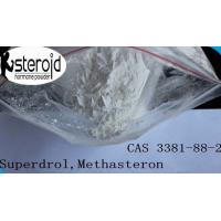 Wholesale 17a-Methyl-Drostanolone Bodybuilding Steroids Superdrol Methasteron Powder CAS 3381-88-2 from china suppliers