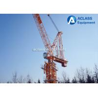 Wholesale Urban Use 12 ton Luffing Jib Traveling Tower Crane Machinery Anti - Wind from china suppliers