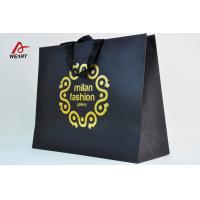 Wholesale Matt Laminated Cloth Shopping Personalised Paper Carrier Bags With Hot Stamping LOGO from china suppliers