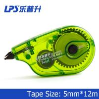 Wholesale Students Stationery Correction Roller 90 Degree Rotatable Tip Green Correction Tape W90076 from china suppliers