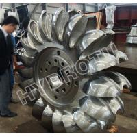 Wholesale High Water Head Pelton Hydro Turbine with CNC forged runner from china suppliers