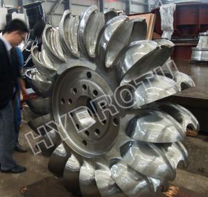 Quality Pelton Hydro Turbine / Pelton Water Turbine for high water head Hydropower project for sale
