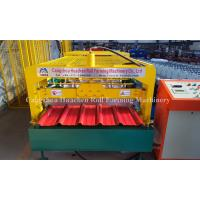 Quality Galvanized Steel Profile Metal Roofing Corrugated Sheet Roll Forming Machines C10 for sale