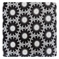 China Fashion Different Color Big  Floral Cotton Polyester Lace Fabric , Burn Out Lace Fabric on sale