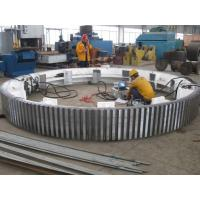 Wholesale Steel Casting Gear Ring For Ball Mill , Casting Steel Ring Gears from china suppliers