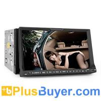 Wholesale 2 DIN 7 Inch Car DVD Player (GPS, TV, Bluetooth, RDS) from china suppliers