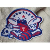 Quality 3D Washable Custom Embroidery Heat Transfer Patch For Ski-Wear for sale