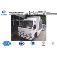 Wholesale high quality ISUZU 100p 98hp diesel P4/P6/P8 mobile LED billboard advertising truck for sale, mobile LED truck from china suppliers