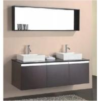 Wholesale Elegant Design High Gloss Black Color MDF Bathroom Vanity  (BL-1600) from china suppliers