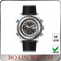 Wholesale Army Filed Automatic Stainless Steel Military Watches With 3 Circles Date Display from china suppliers