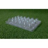 Wholesale recyclable Clear Disposable Food Trays Quail Egg Trays 4x6 Range from china suppliers