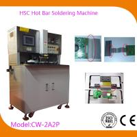 Wholesale USB Automatic Hot Bar Soldering Machine with 0.02mm Welding Head Flatness , CW-2A2P from china suppliers