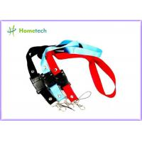Wholesale Rectangle Large Lanyard USB Flash Drives 64GB with File Transfer from china suppliers