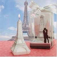 Wholesale The Eiffel Tower shaped Candle Favor wedding gifts from china suppliers