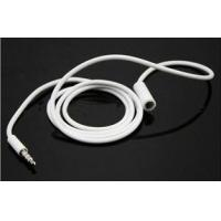 Wholesale 3.5 mm Male to Female Stereo Audio Extension Cable for iPhone 4 M43 from china suppliers