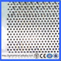 Quality decorative metal galvanized perforated sheet Guangzhou factory direct wholesale(Guangzhou Factory) for sale